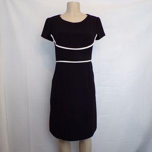 Donna Ricco Black Career Dress, Sz 6